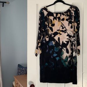 Maeve Anthropologie Shaded Garden Dress Size Small